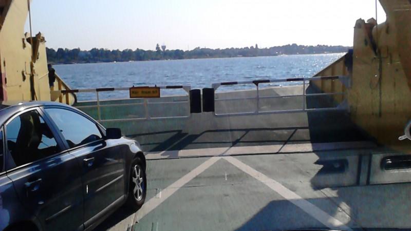 Husbil på sjön