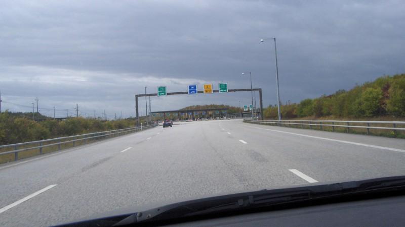 På väg mot Danmark